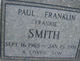"Paul Franklin ""Frankie"" Smith"