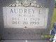 Audrey Ester <I>McMillen</I> Moore