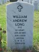 Pvt William Andrew Long