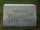 Maude <I>Dove</I> Woodworth
