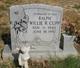Willie Ralph Cupp