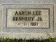 Profile photo:  Aaron Lee Kennedy, Jr