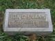Ida May <I>Garner</I> Evans