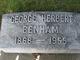Profile photo:  George Herbert Benham