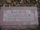 Gladys Lula <I>Peterson</I> Hall Boyington