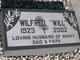 "Wilfred V. ""Will"" LaFranchi"