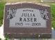 "Julia ""Judy"" <I>Verwolf</I> Raser"