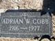 Profile photo:  Adrian W Cobb