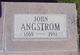 Profile photo:  John Angstrom