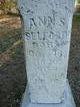 Ann S. <I>Hilton</I> Belford