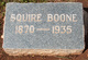 Squire Boone, Jr