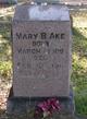 Mary Baldwin <I>Raines</I> Ake