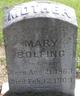 Profile photo:  Mary Bolfing