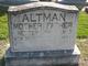Profile photo:  Hester <I>Powell</I> Altman