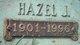 Hazel <I>Jones</I> Coons