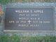 Profile photo:  William Emery Apple