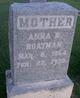 Profile photo:  Anna B. Boatman