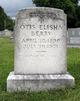 Profile photo:  Otis Elisha Berry