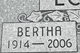 Bertha <I>Kraaima</I> Eckersley