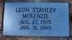 Leon Stanley McKenzie