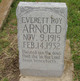 Profile photo:  Everett Roy Arnold