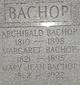 Profile photo:  Archibald Bachop