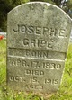 Profile photo:  Joseph E Cripe