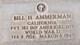 Pvt Bill H. Ammerman