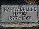 Harry Dallas Hayes