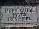 Mary Maude Hayes