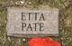Etta Pate