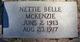 Nettie Belle McKenzie