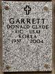 Profile photo:  Donald Clyde Garrett