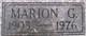 Marion G Alcorn