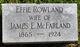 Profile photo:  Effie <I>Rowland</I> McFarland