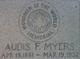 Audis Francis Myers Sr.