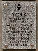 William Wiltcher York
