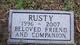 Profile photo:  Rusty