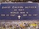 David Calvin Altizer