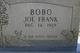 Joe Frank Bobo