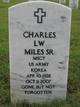 Charles L W Miles, Sr