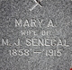 "Marianne A. ""Mary"" <I>Delore</I> Senecal"