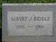 Profile photo:  Albert J Biddle
