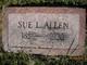 "Susan Lundy ""Sue"" <I>Smith</I> Allen"