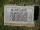Mary Jane Almagourd
