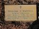 Sgt William Thomas Waddell
