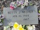 Betty J. <I>Sherrod</I> Absher