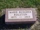 Marie <I>Buscher</I> Rolston
