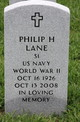Philip H Lane