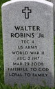 Walter Robins, Jr